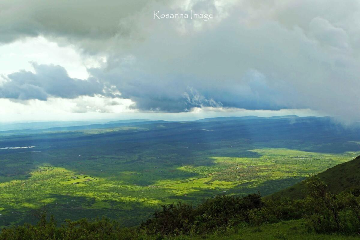 东非大裂谷 非洲, 肯尼亚, 风光, 恩贡山, 俯瞰 mrosanna 图虫摄影图片