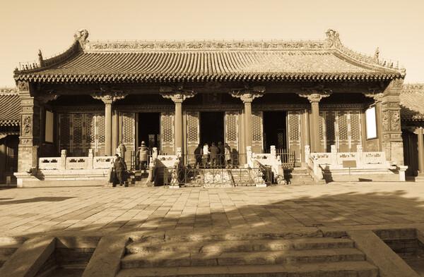 沈阳故宫の崇政殿高清图片