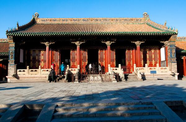 沈阳故宫の崇政殿ii高清图片