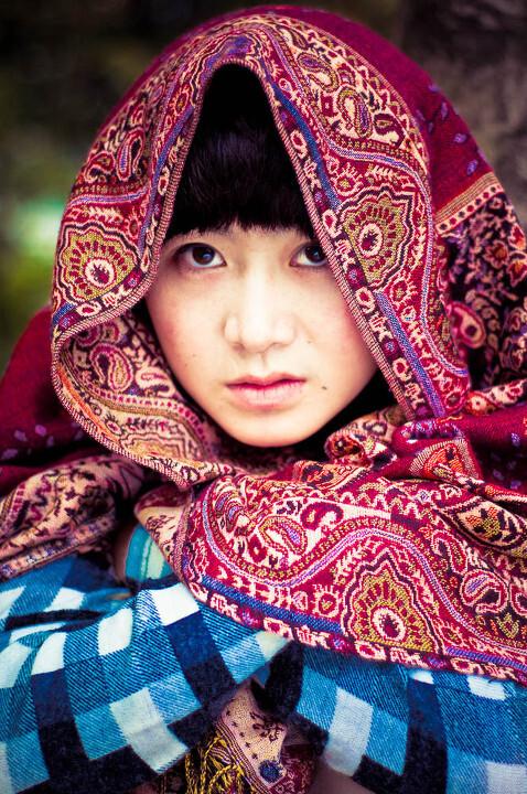 阿富汗少女 冷月无声