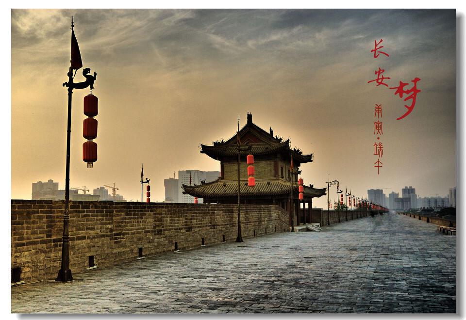 梦长安 - 《摄影旅游》主题月赛:你心中的城市 - 图虫图片