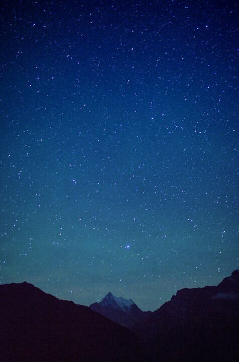 img_8311 雪山星空图片