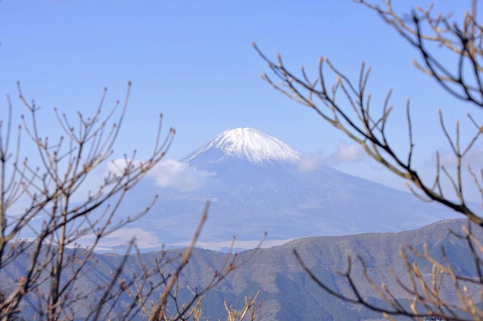 富士山美景 - 日本, 东京, 箱根, 大涌谷, 旅行, 跨