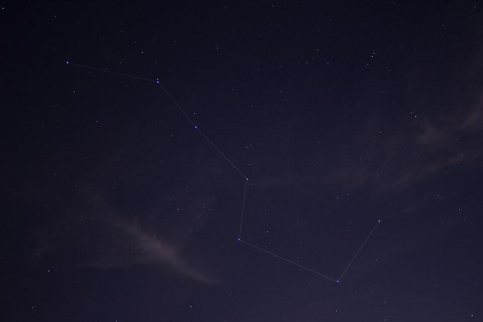 北斗星 天文, 星座, 银河 star walk 锡特卡渡 高清图片