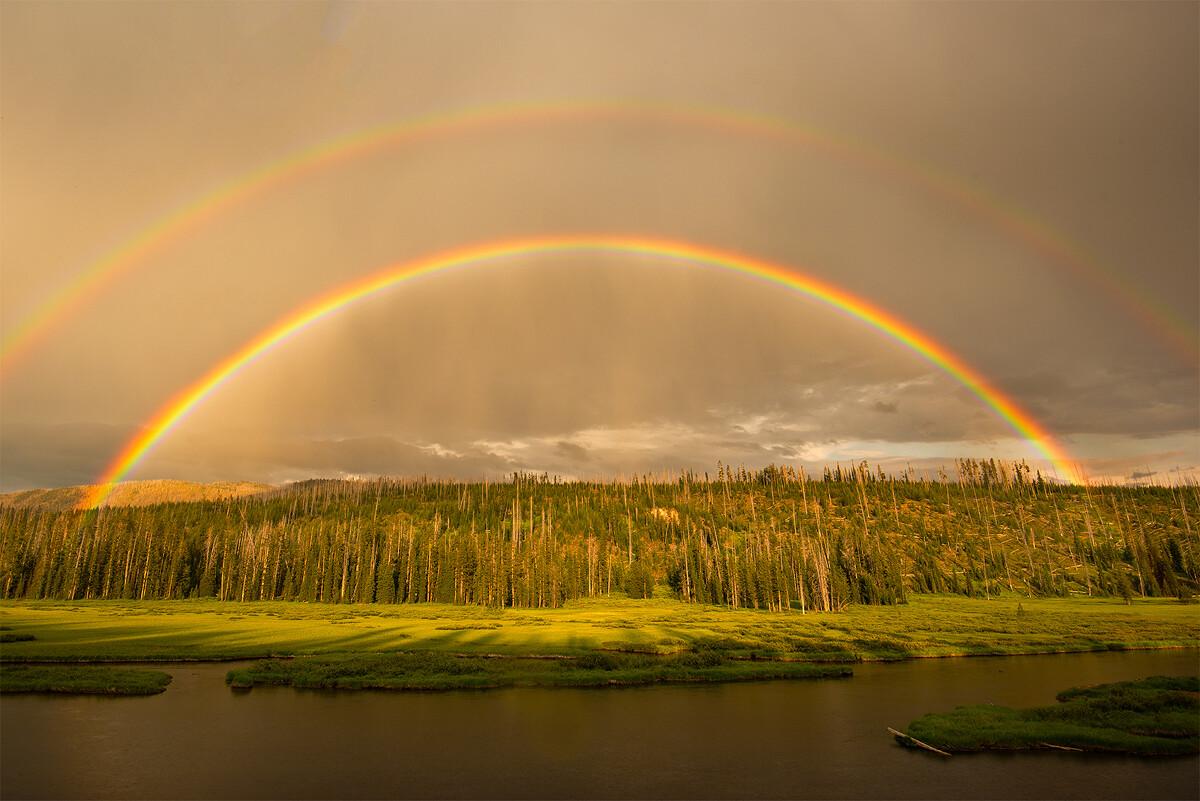 双虹黄石和大提顿第一天的行程其实多数都算是踩点的性质,所到的地方