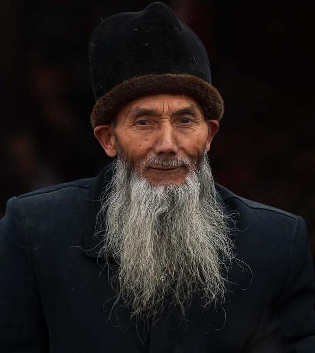 维吾尔老人 维吾尔老人 朱卫华 图虫摄影网 -维吾尔老人
