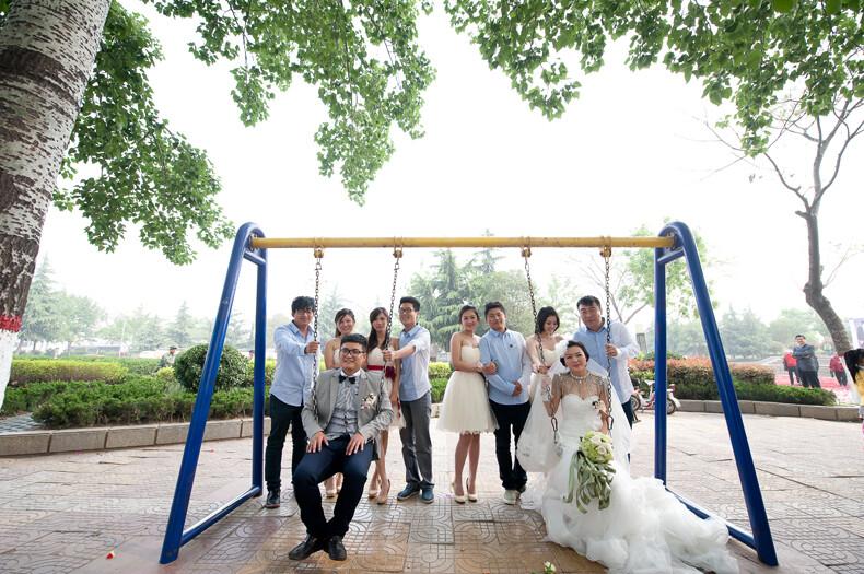 滕州龙泉制度农村全小学-婚礼婚礼,视觉集体影像广场2017婚礼备课纪录图片
