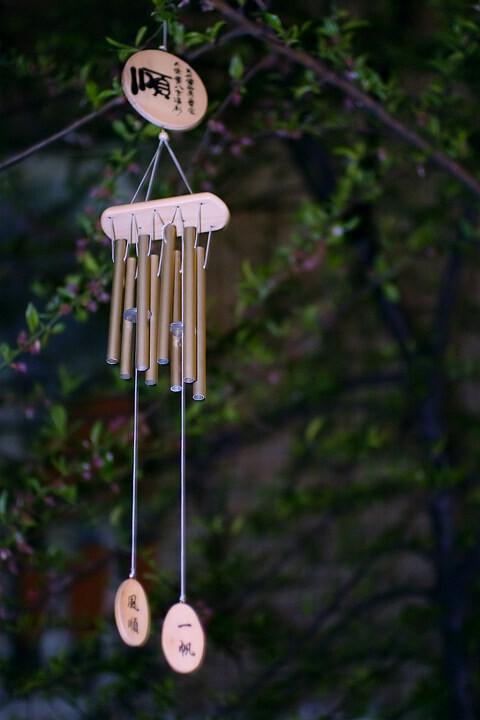 树林风铃手工制作