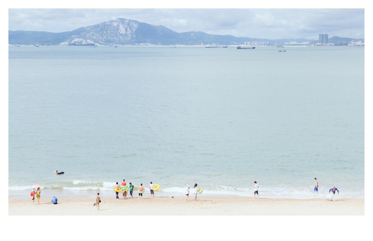 清新 罗荣啸/白城沙滩