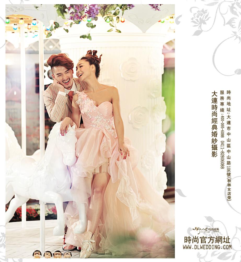 大连时尚经典婚纱摄影-梦幻国度-2-大连时尚经典梦幻国度
