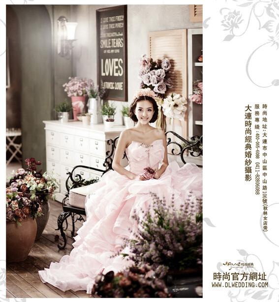 大连时尚经典婚纱摄影