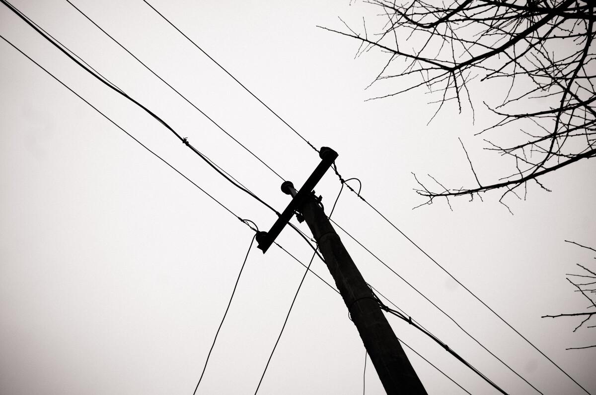 电线杆2图片