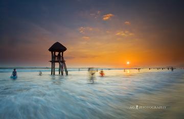 欢乐海滩图片