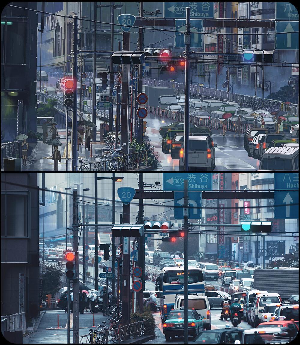 拥堵的甲洲街道