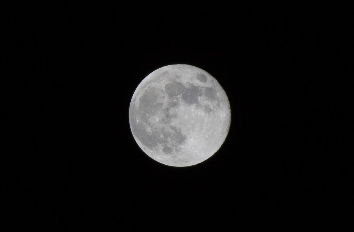 黑白 十六/十五的月亮十六圆