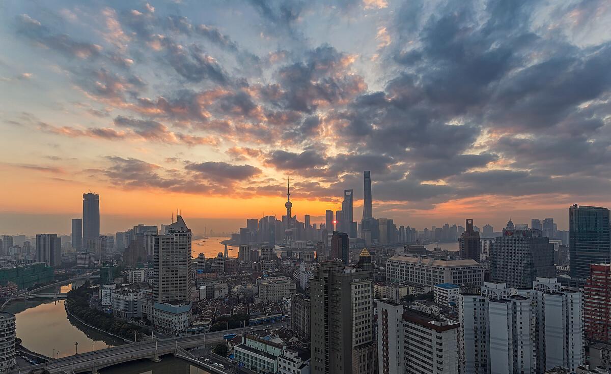 那天的云 - 上海, 城市, 佳能, 光影, 《摄影旅游》