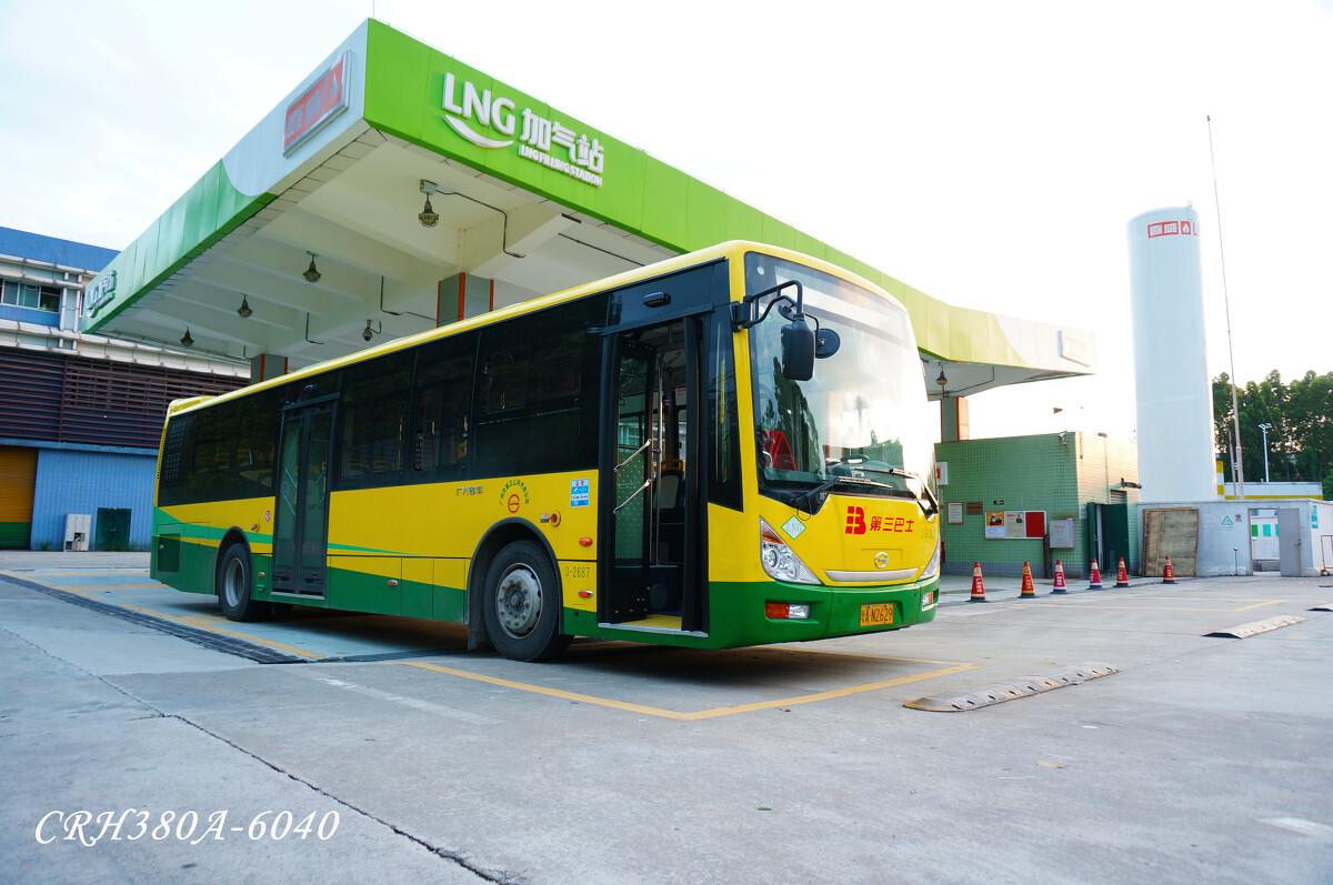 夕阳 - 广州, 公交, 三汽, 广汽LNG - CRH380A-6