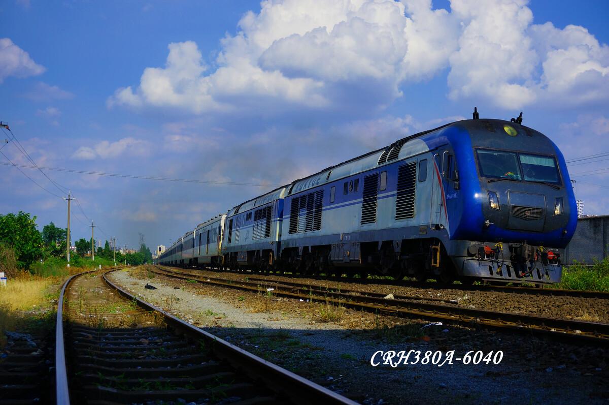 广铁广段DF11G牵引北京西 三亚的T201次列车
