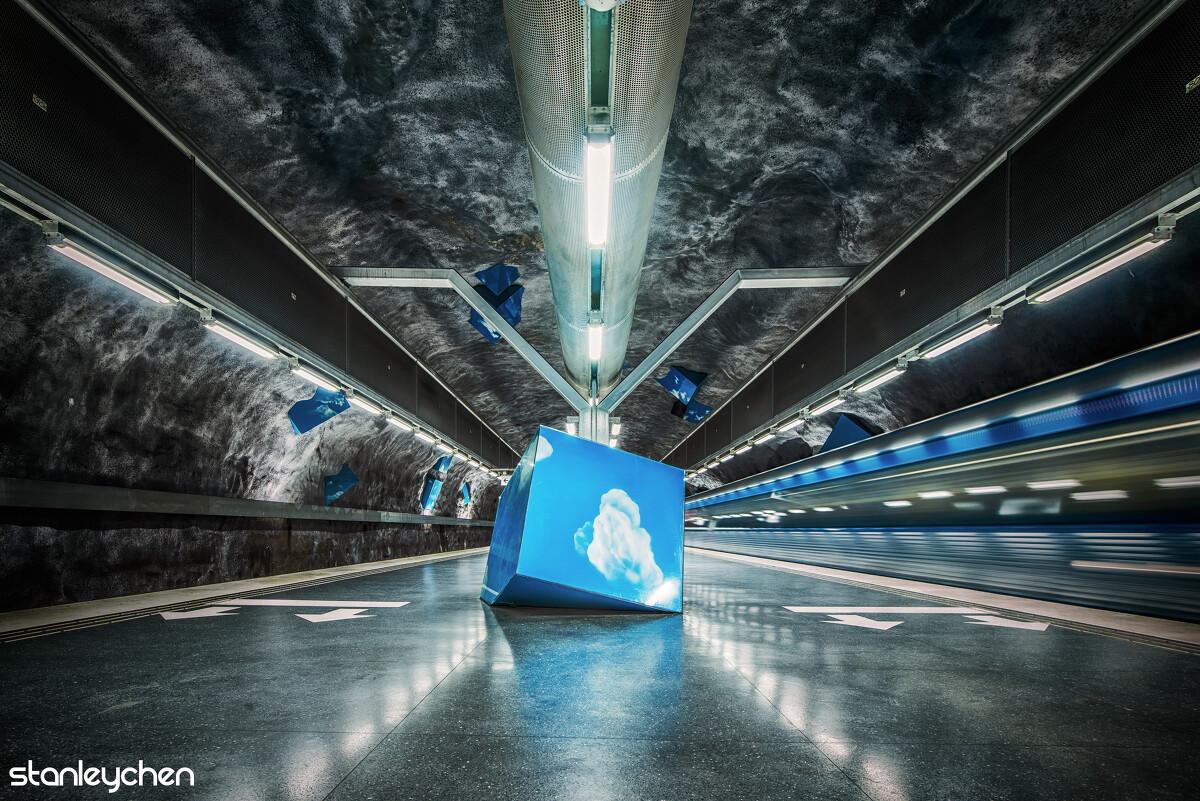 彩虹帮助_斯德哥尔摩地铁大赏 - 斯德哥尔摩, 地铁, 交通, 城市, 长曝光 ...