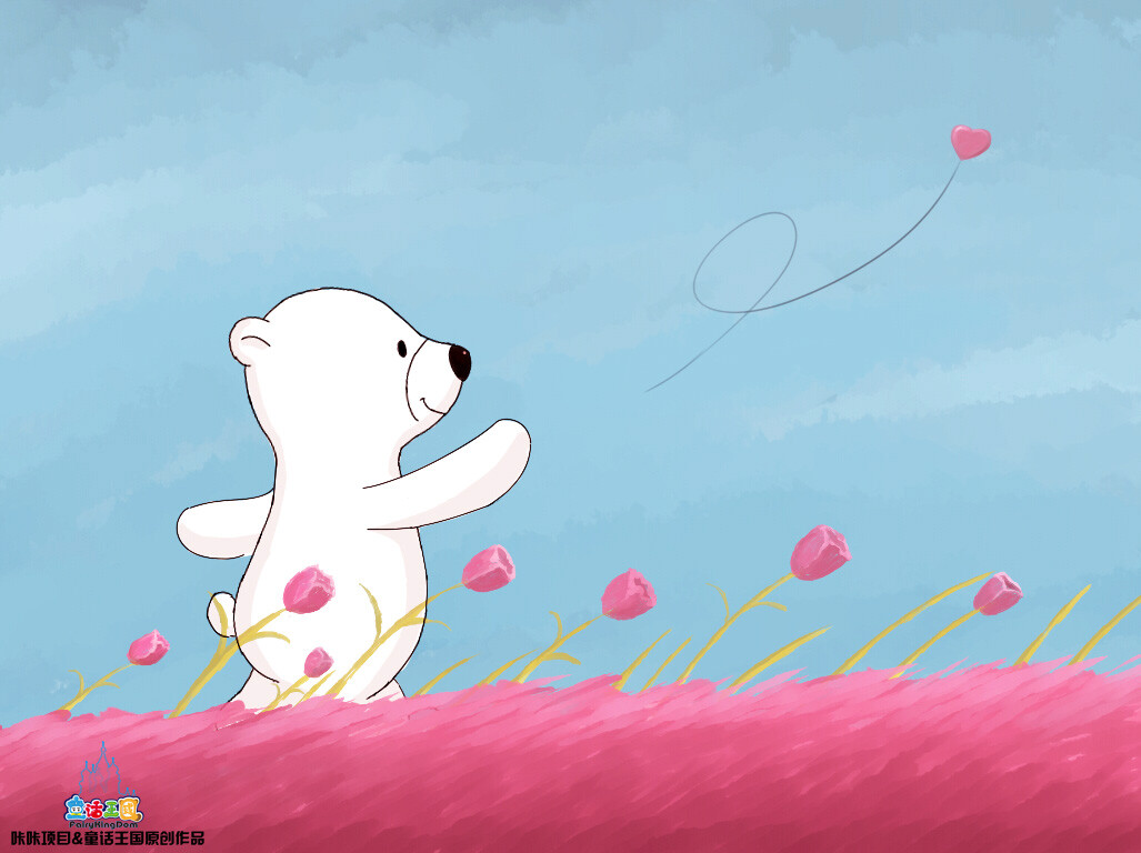 一只名叫咔咔的北极熊-动物,北极熊,色彩-fairy蚂蚁时候什么分期还款日图片