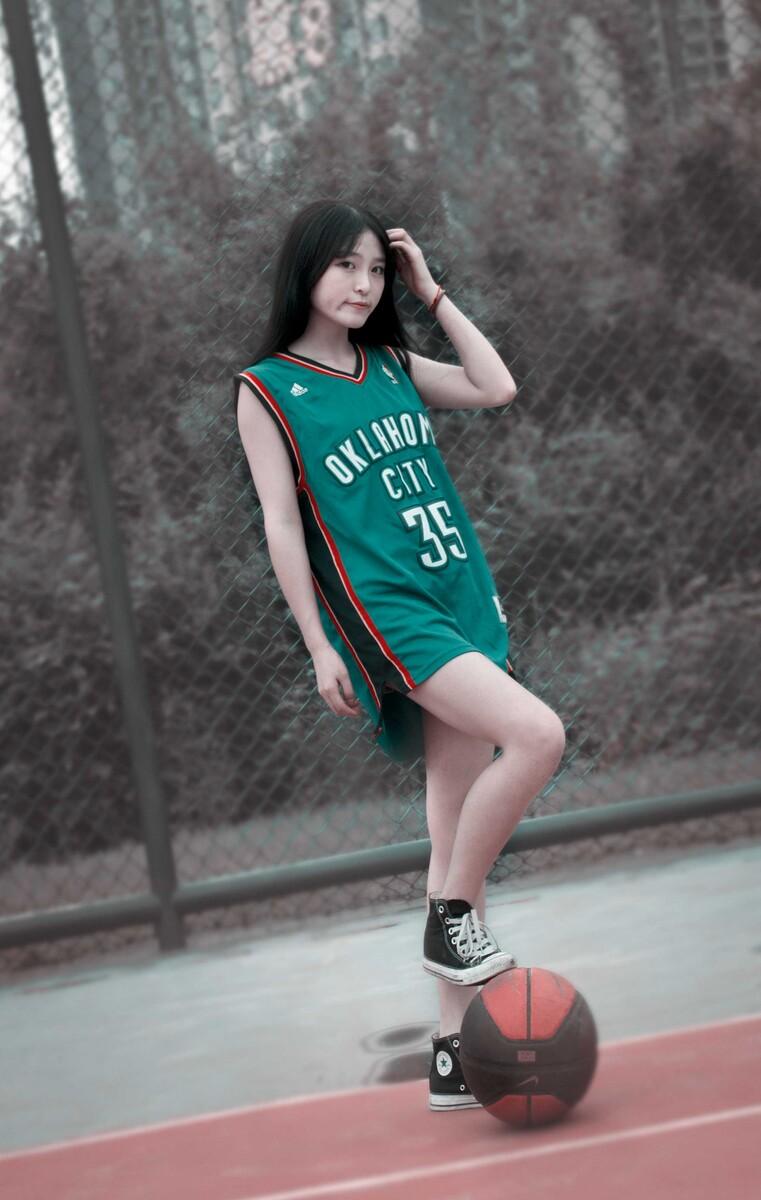 女孩身高-女生,佳,成都约片-大米稀-图虫篮球13岁人像图片