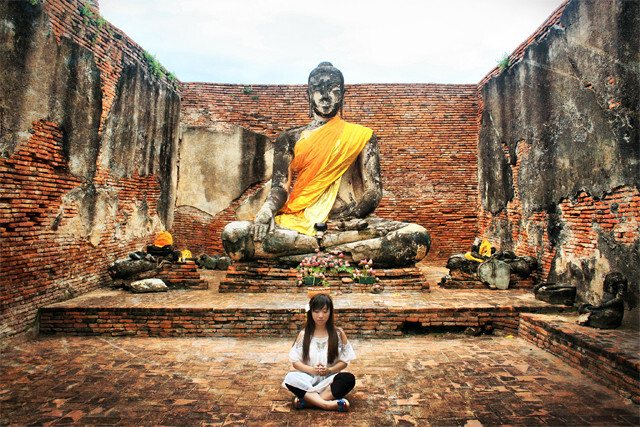 阿宝师傅说:inner peace - 泰国, 旅行 - 青青_CC