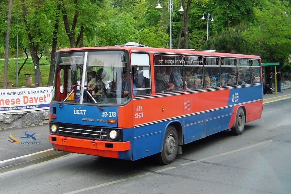 tanbul bus IKARUS260 伊斯坦布尔公共汽车伊卡鲁斯260型高清图片