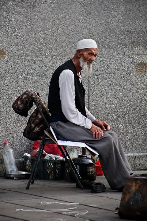 维吾尔老人 汪彬 图虫摄影网 -维吾尔老人