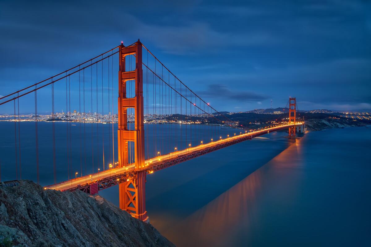 金门大桥 - 风光, 旅行, 美国, 色彩, 深圳 - 马路- - 图虫摄影网