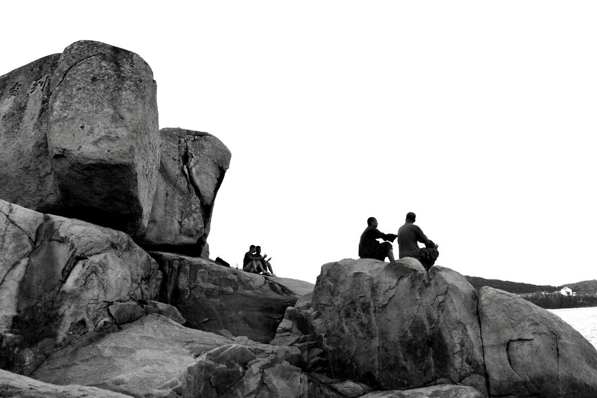 循循善诱 - 黑白, 人文, 旅行, 尼康, 中国, 今镜头