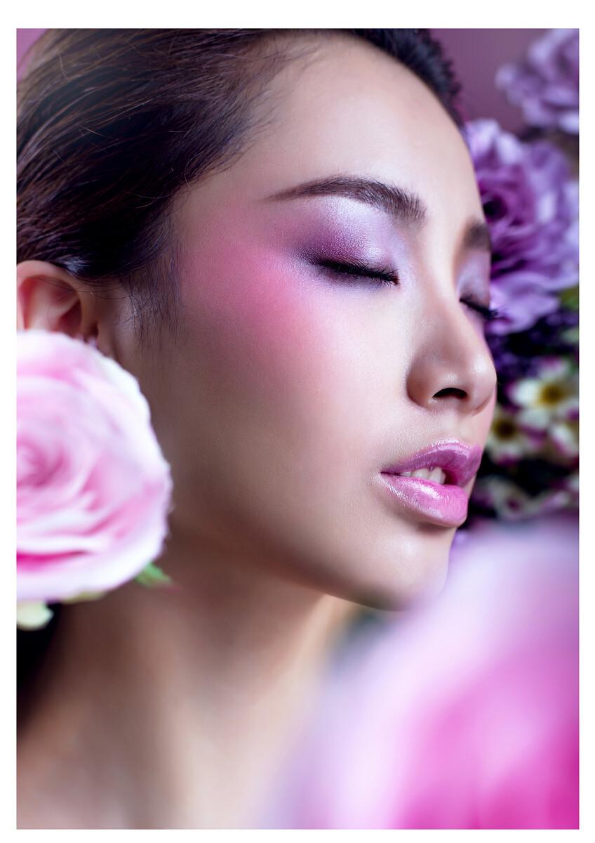 棠棠老师的妆型作品(南宁m&d美杜时尚彩妆)图片